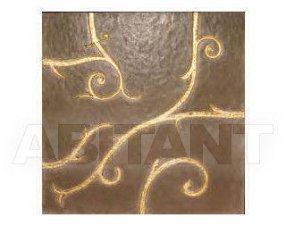 Купить Плитка настенная BDSR Giovanni Barbieri FLAMBOYANT Brown & Gold Leaf