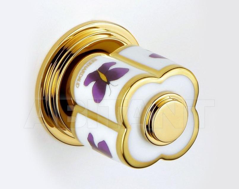 Купить Вентиль THG Bathroom  A7D.32 Capucine mauve butterfly gold decor
