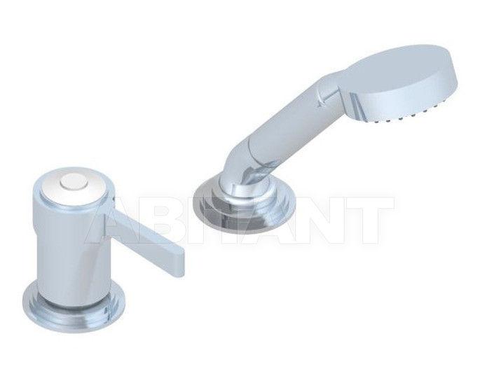 Купить Смеситель для ванны THG Bathroom A7E.6523/60A Capucine vert décor Platine