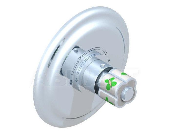 Купить Смеситель термостатический THG Bathroom A7E.5100BR Capucine vert décor Platine