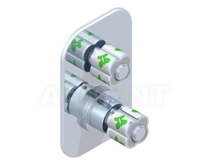 Купить Встраиваемый смеситель THG Bathroom A7E.5300B Capucine vert décor Platine