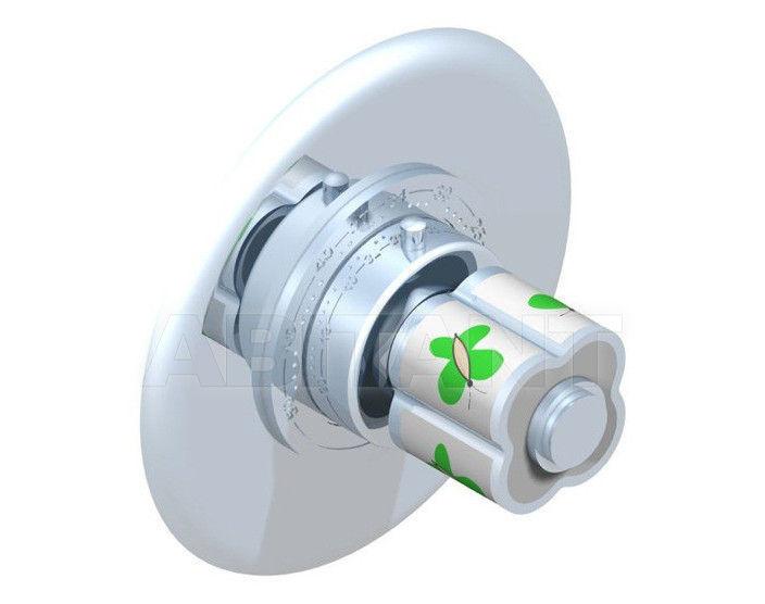 Купить Смеситель термостатический THG Bathroom A7E.15EN16EM Capucine vert décor Platine