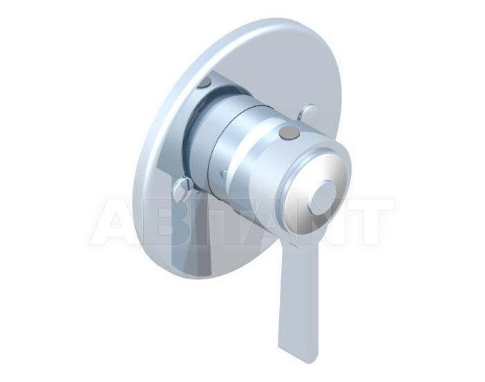 Купить Встраиваемый смеситель THG Bathroom A7E.6540 Capucine vert décor Platine