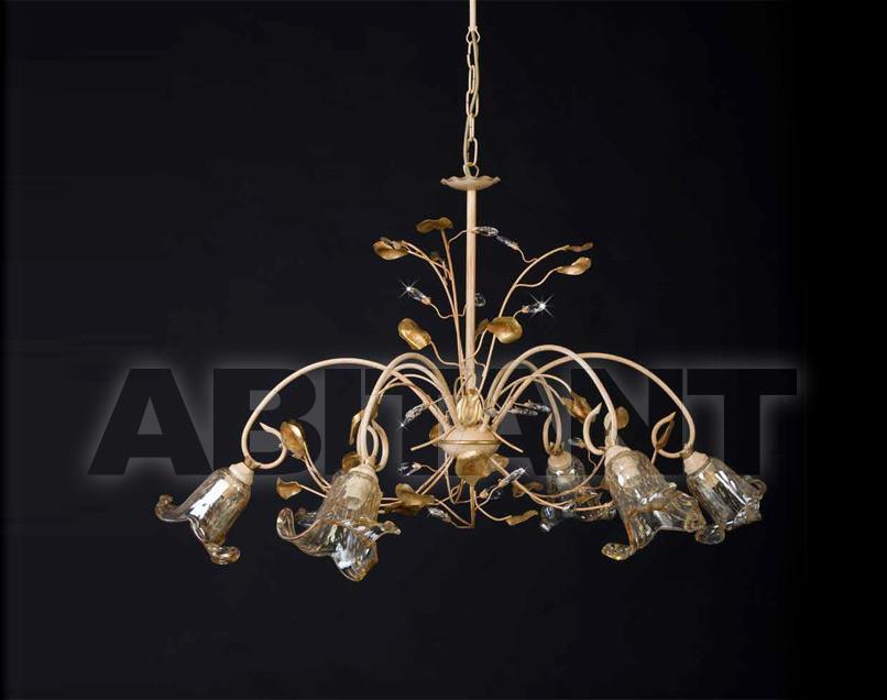 Купить Люстра Artigiana Lampadari Allegato 2012 1092/6 con vetro
