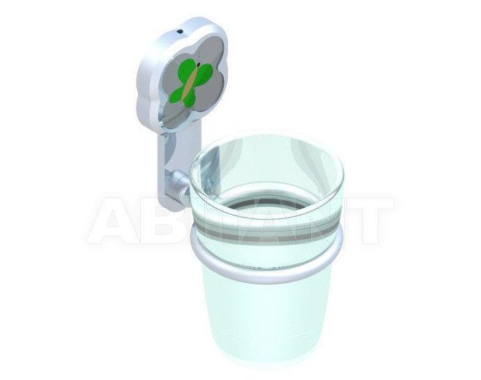 Купить Стаканодержатель THG Bathroom A7E.536 Capucine vert décor Platine