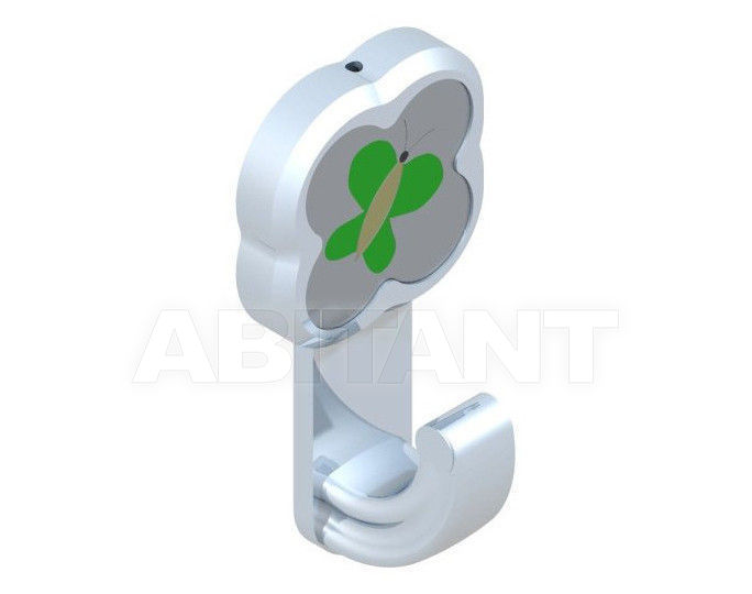 Купить Крючок THG Bathroom A7E.517 Capucine vert décor Platine