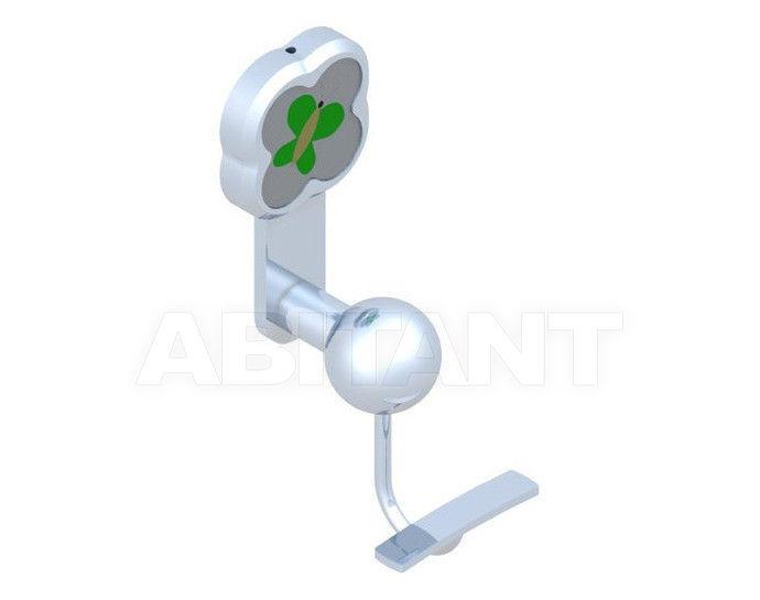 Купить Крючок THG Bathroom A7E.510 Capucine vert décor Platine