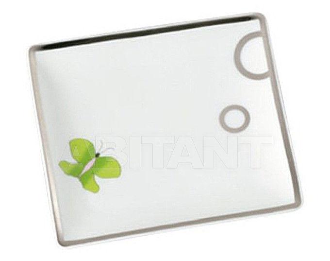 Купить Посуда декоративная THG Bathroom A7E.4612 Capucine vert décor Platine