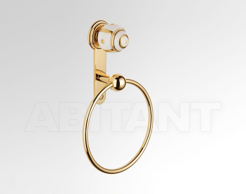 Купить Держатель для полотенец THG Bathroom A7A.504N Ithaque gold decor