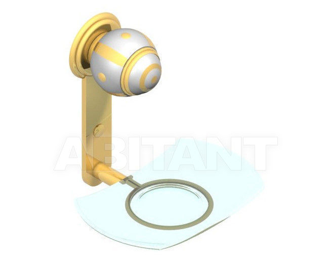 Купить Мыльница THG Bathroom A7A.500 Ithaque gold decor