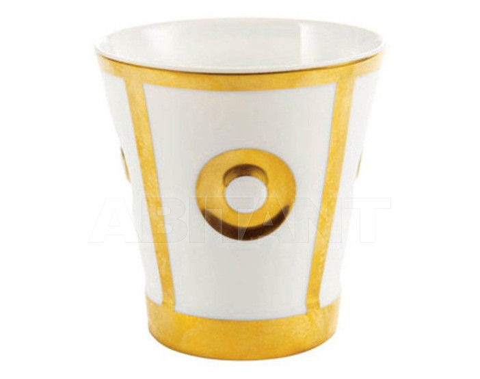 Купить Стакан для зубных щеток THG Bathroom A7A.4610 Ithaque gold decor