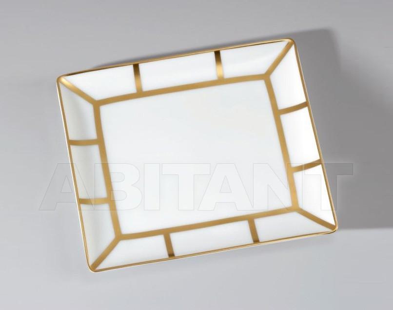Купить Посуда декоративная THG Bathroom A7A.4613 Ithaque gold decor