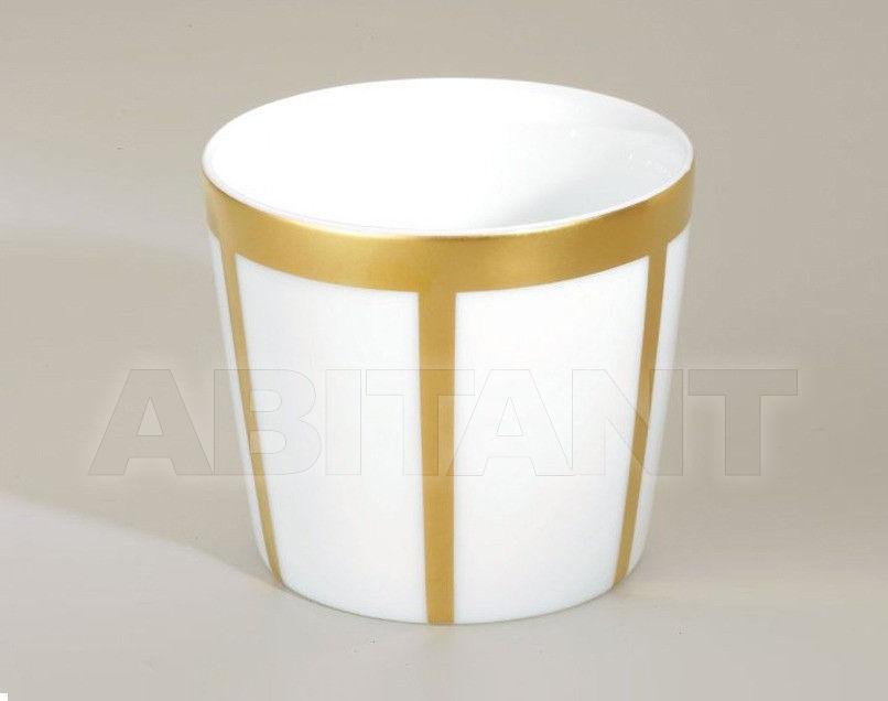 Купить Стакан для зубных щеток THG Bathroom A7A.4618 Ithaque gold decor