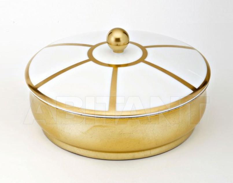 Купить Шкатулка THG Bathroom A7A.4623 Ithaque gold deco