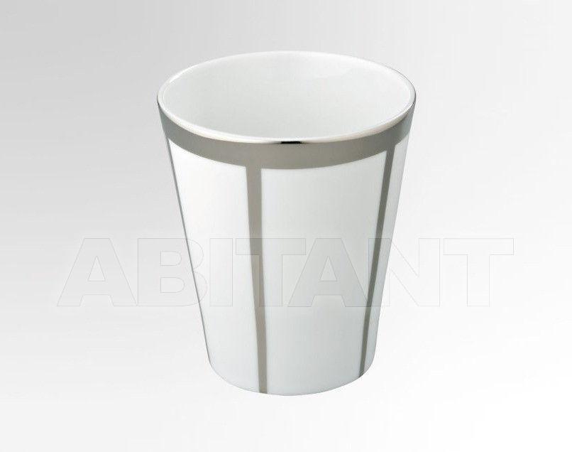 Купить Стакан для зубных щеток THG Bathroom A7B.4608 Ithaque platinum decor