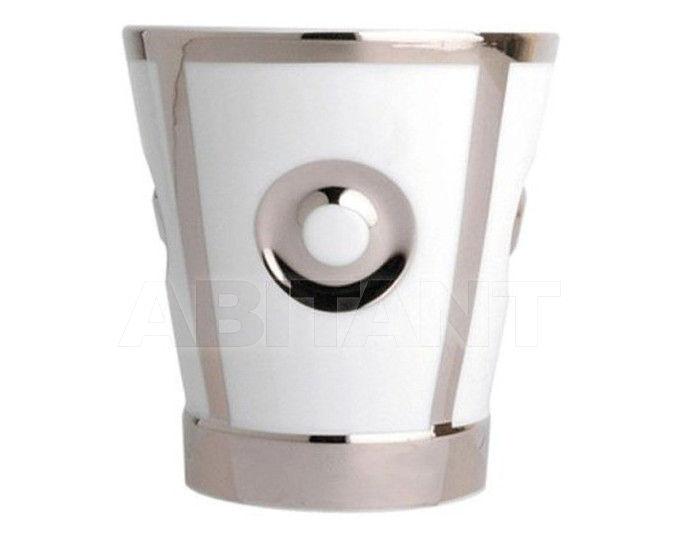 Купить Стакан для зубных щеток THG Bathroom A7B.4610 Ithaque platinum decor