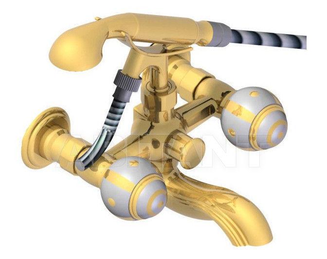 Купить Смеситель для ванны THG Bathroom A7A.13B Ithaque gold decor