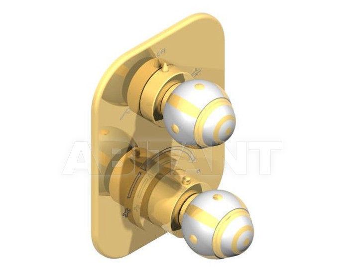 Купить Смеситель термостатический THG Bathroom A7A.5500B Ithaque gold decor