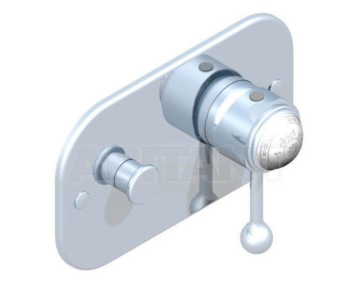 Купить Встраиваемые смесители THG Bathroom A7G.6550 Marquise platinum decor
