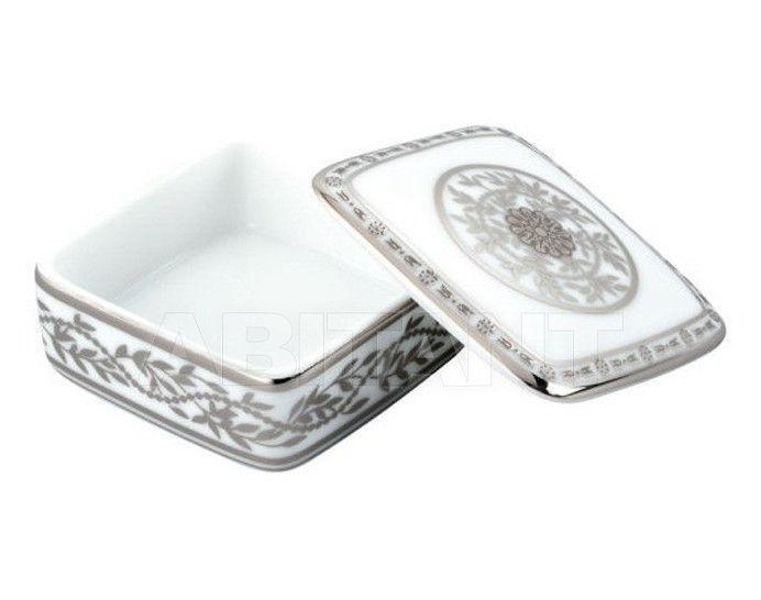 Купить Шкатулка THG Bathroom A7G.4617 Marquise platinum decor