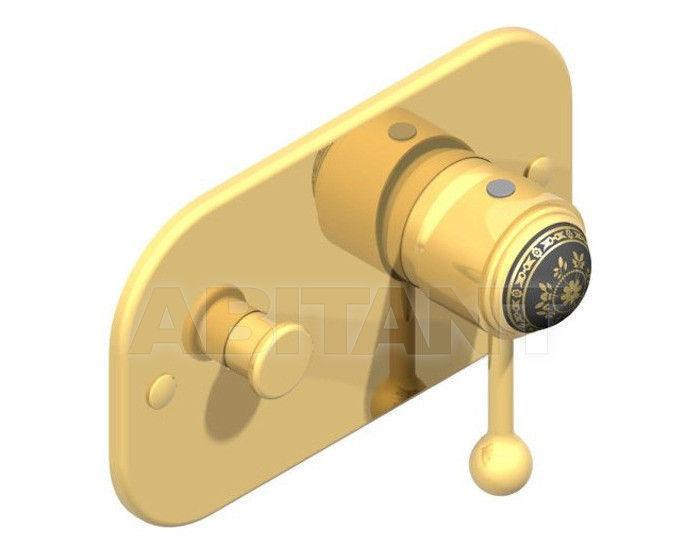 Купить Встраиваемые смесители THG Bathroom A7F.6550 Marquise gold decor