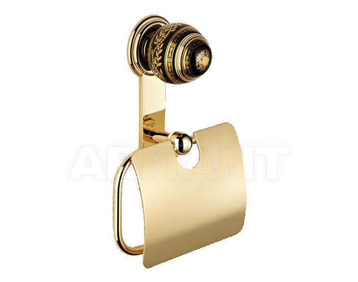 Купить Держатель для туалетной бумаги THG Bathroom 7F.538AC Marquise platinum decor