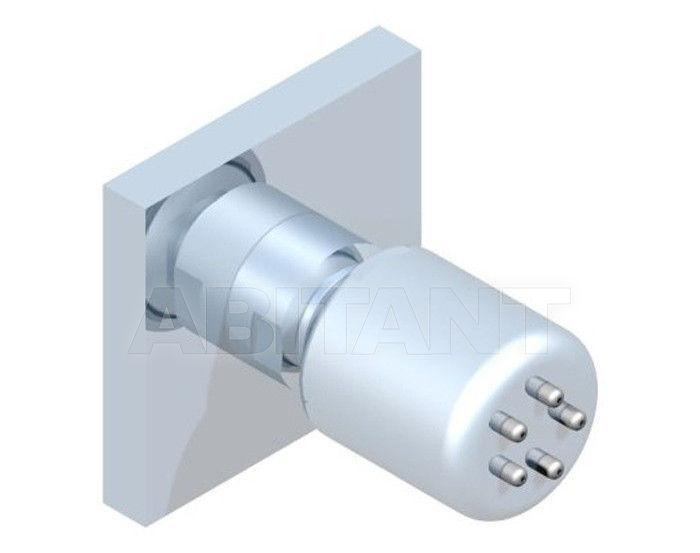 Купить Лейка душевая настенная THG Bathroom G79.290/B Cubica