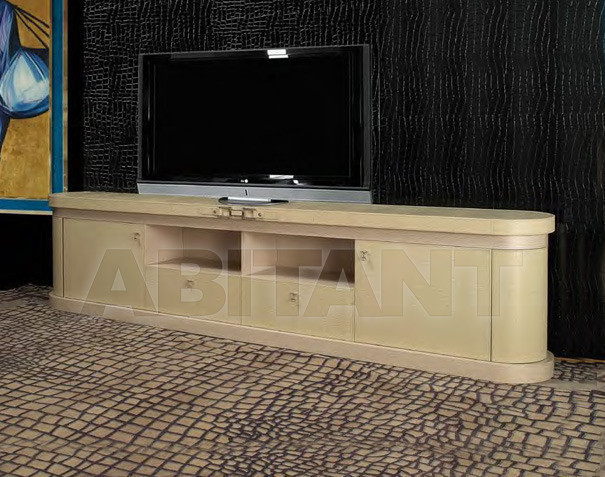 Купить Стойка под аппаратуру Formitalia Bedrooms TV CABINET Low Tv cabinet without doors