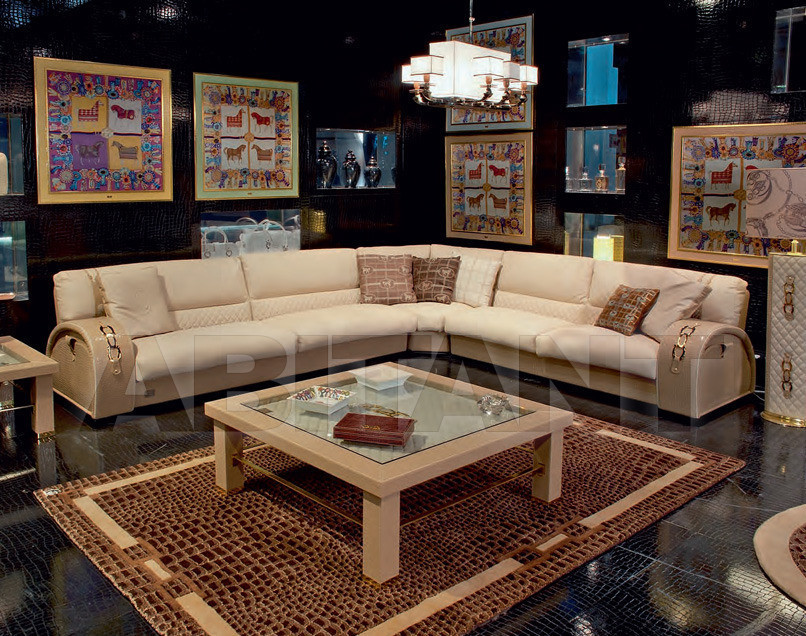 Купить Диван Formitalia Living Rooms ASCOT-ONE Sectional composition, 4seat + corner + 3seat