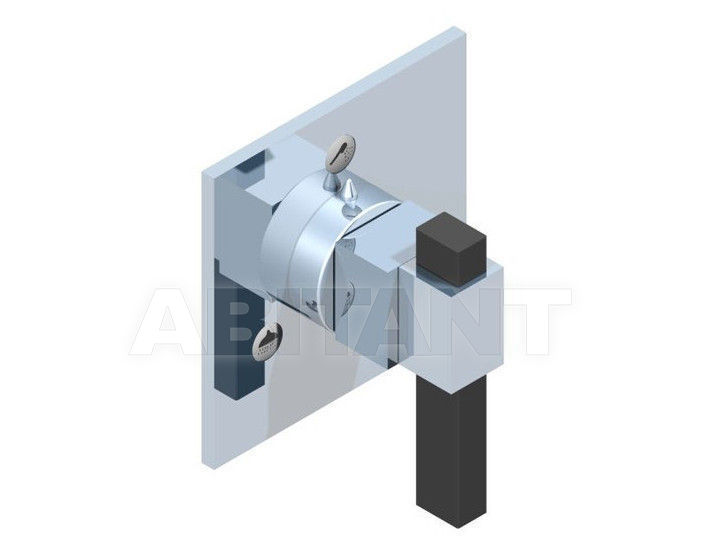 Купить Переключатель THG Bathroom A60.49/3VM Marina black Onyx