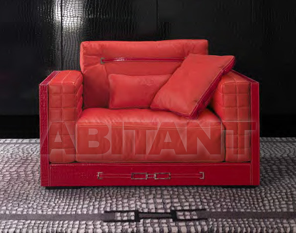 Купить Кресло Formitalia Living Rooms SUITCAS Armchair with upholstered arms
