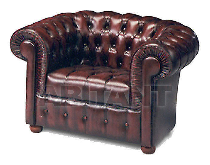 Купить Кресло AR.T.EX  Divani_pelle MANCHESTER  Poltrona