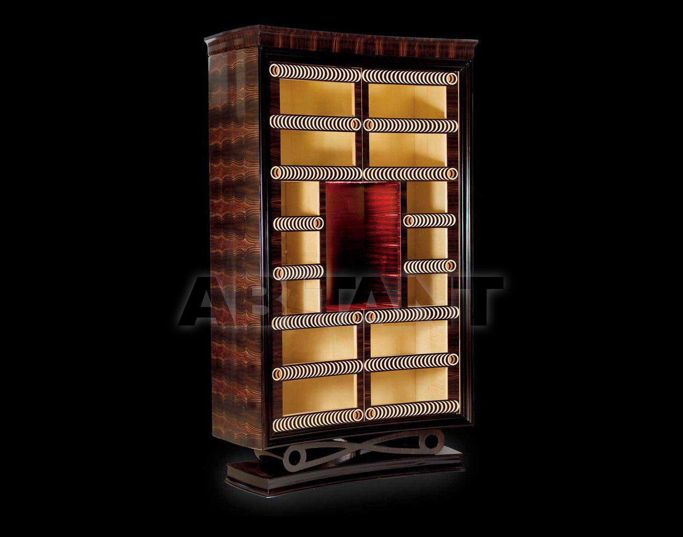 Купить Витрина TUBO Isacco Agostoni Contemporary 1279 GLASS CABINET