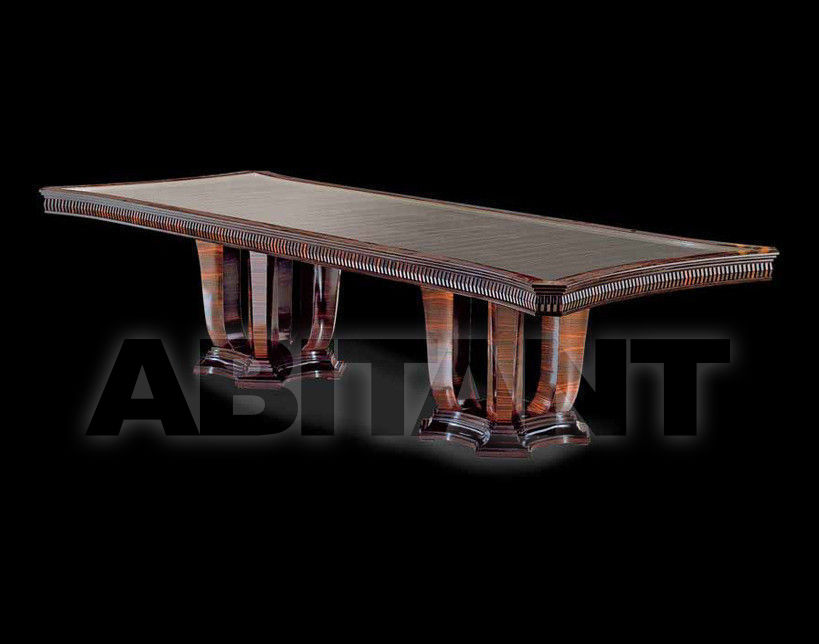 Купить Стол обеденный LIGHT Isacco Agostoni Contemporary 1281 TABLE
