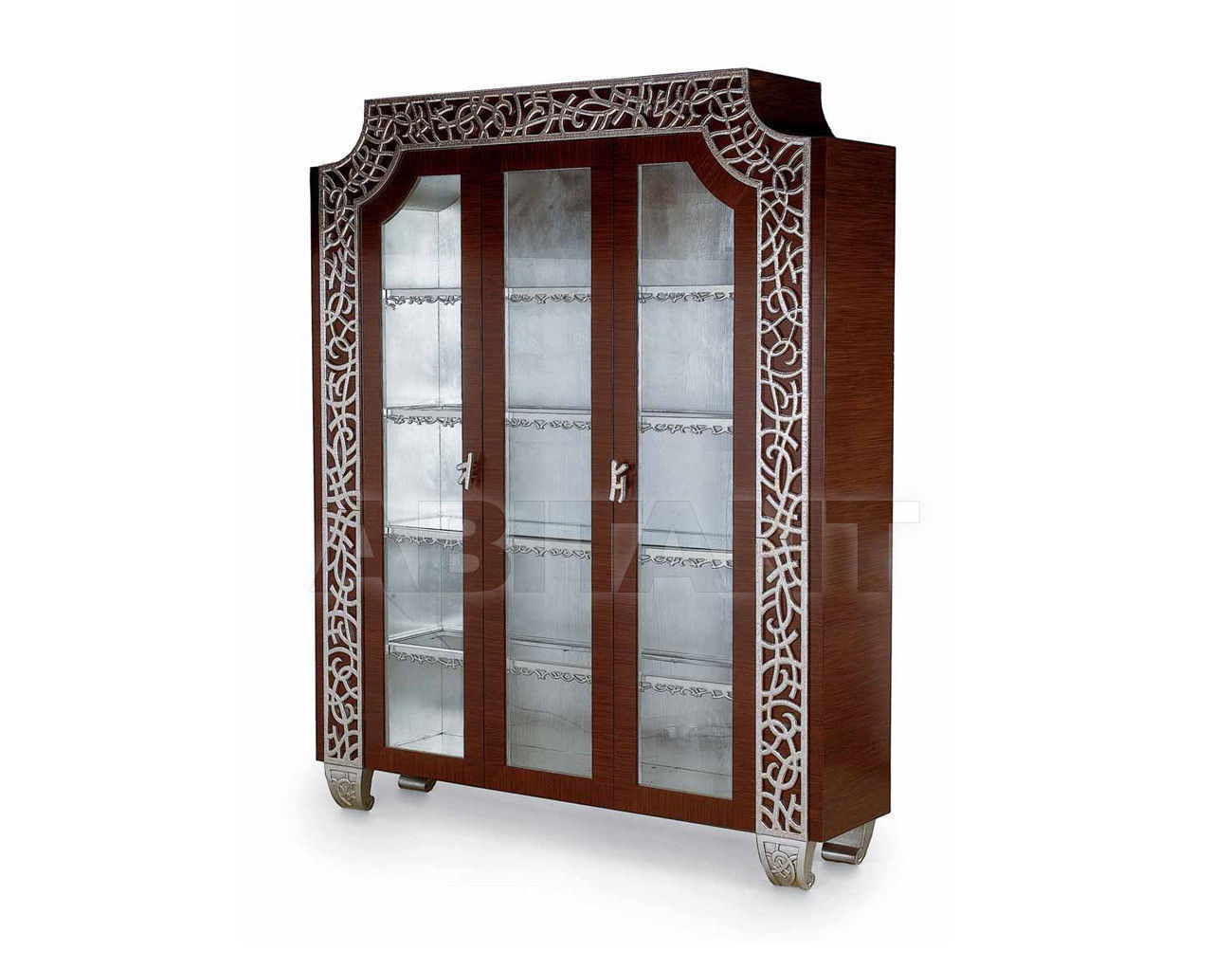 Купить Витрина IMPERO Isacco Agostoni Contemporary 1272 GLASS CABINET