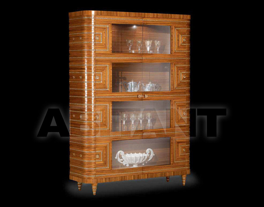 Купить Витрина RIGA Isacco Agostoni Contemporary 1263 2-DOORS GLASS CABINET