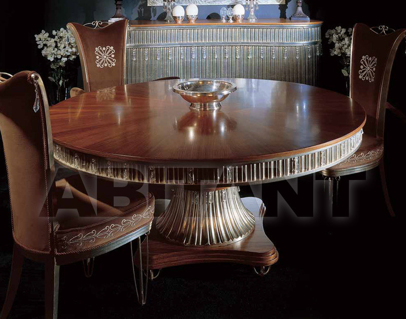Купить Стол обеденный CRYSTAL Isacco Agostoni Contemporary 1259 TABLE