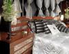 Кровать ACCIAIO Isacco Agostoni Contemporary 1285 BED (headboard) + 2 NIGHT TABLES Классический / Исторический / Английский