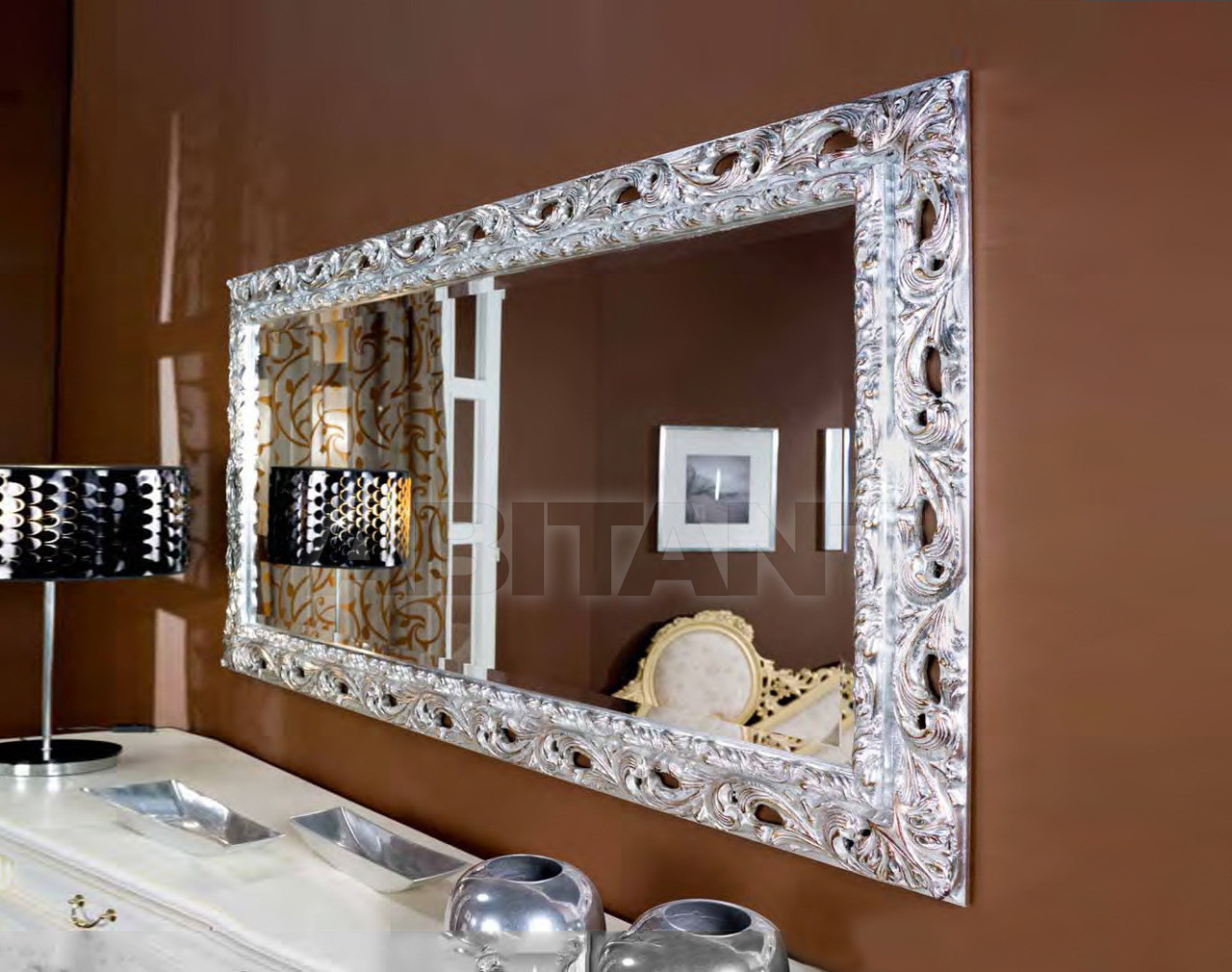 Купить Зеркало настенное Metamorfosi Specchiere 11000/A