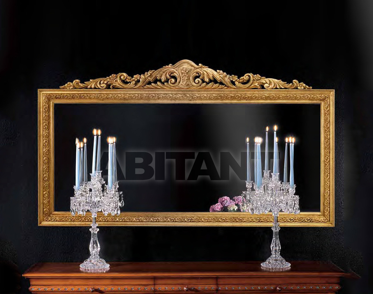 Купить Зеркало настенное Metamorfosi Specchiere 388BF2/O
