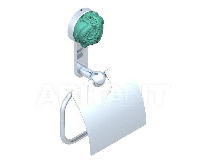Купить Держатель для туалетной бумаги THG Bathroom U5H.538AC Jade Dragon