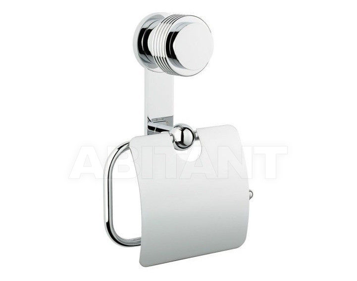Купить Держатель для туалетной бумаги THG Bathroom U4B.538AC Diplomate grooved rings