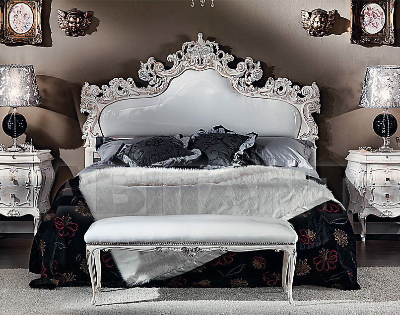 Купить Кровать Sanvito Angelo Italian Classic Style 3445 LETTO