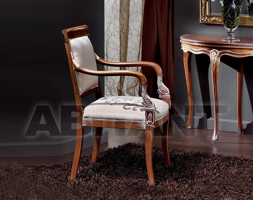 Купить Стул с подлокотниками Sanvito Angelo Italian Classic Style 3420 POLTRONA