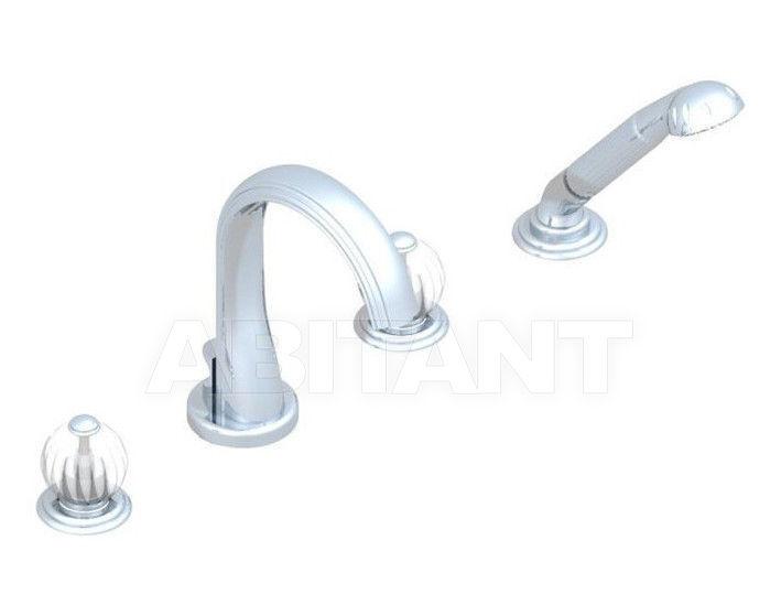 Купить Смеситель для ванны THG Bathroom U1E.112B Mandarine satin crystal