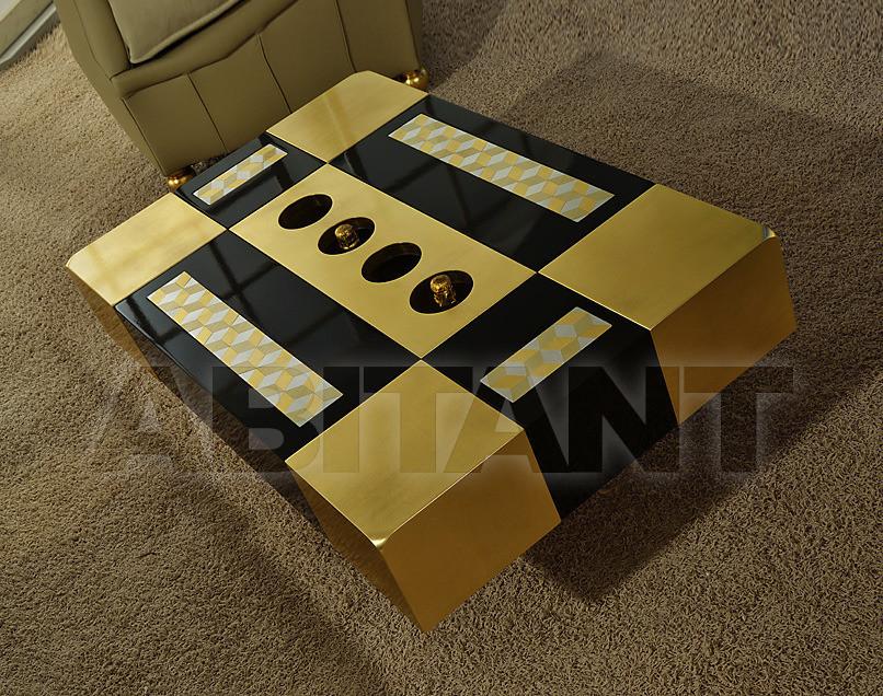 Купить Столик журнальный Vismara Design Mosaik CIAIKA 110 SLIM MOSAIK ORO-NERO