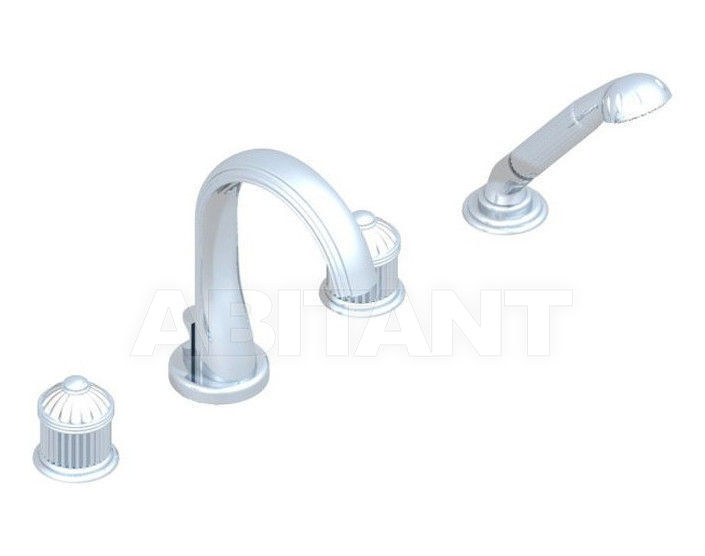 Купить Смеситель для ванны THG Bathroom U1L.112B Nizua clear crystal