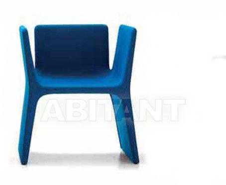 Купить Стул с подлокотниками Arflex Estero 2012 11942 blu