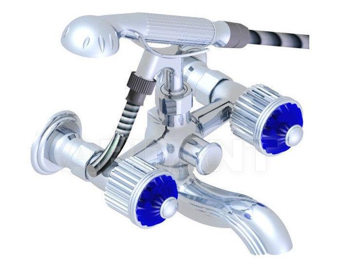 Купить Смеситель для ванны THG Bathroom U1Q.13B Nizua cristal sapphire