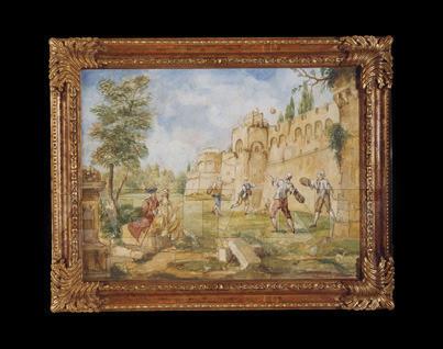 Купить Картина Stile Legno Momenti D'arte 1058/B